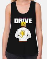 Women's racer back tank top & Loose Fit