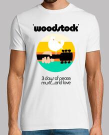 woodstock 1969 orange / vert
