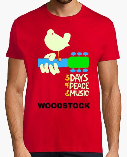 Camiseta Woodstock, modelo 2