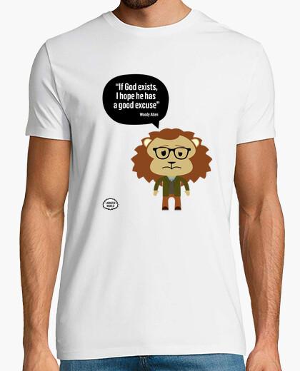 T-shirt woody allen citazione