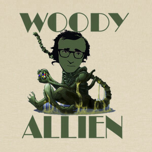 Camisetas woody allien