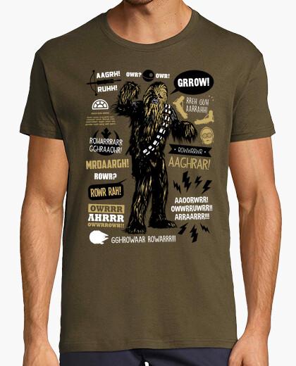 Camiseta Wookie Citas Celebres