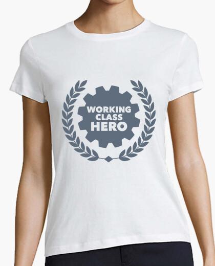 T-shirt wor king c le s hero