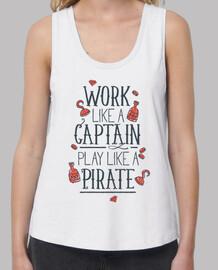 work like un capitaine jouer like un pi