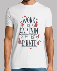 work like un captain gioca like un rat