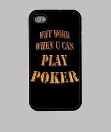 work play poker