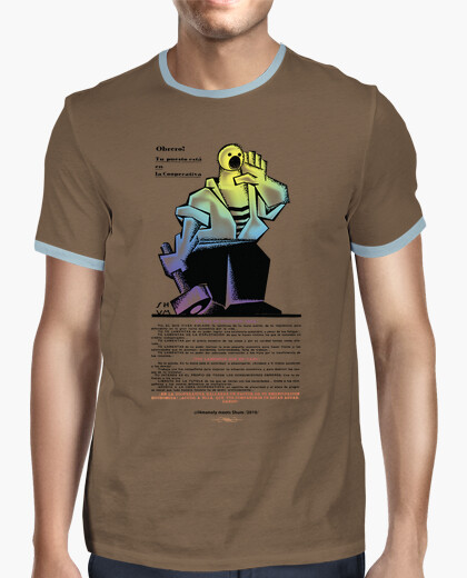 Worker to the cooperative -shum- 2010 t-shirt