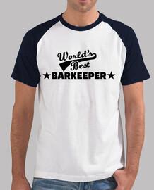 World's best barkeeper bartender