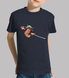 Worm Samurai - Niño