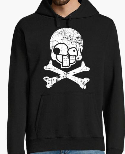 Worn skull2 hoody