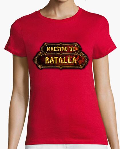 Camiseta WoW Horda Logro Maestro de Batalla