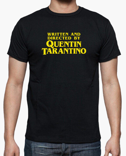 Written and directed by quentin tarantino...