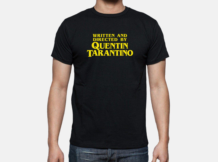 8c789602f written and directed by quentin tarantino T-shirt - 1021069 |  Tostadora.co.uk