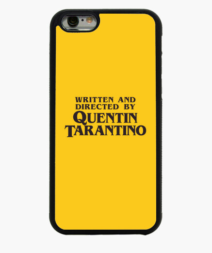 Written and directed by quentin tarantino iphone 6 / 6s case