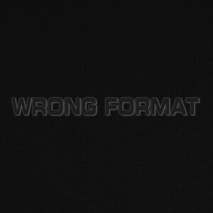 Wrong format T-shirts