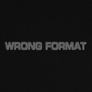 T-shirt Wrong format