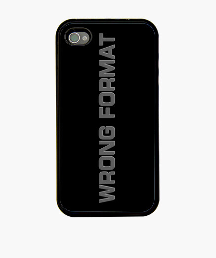 Wrong format iphone cases