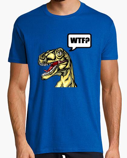 Camiseta WTF Dinosaur