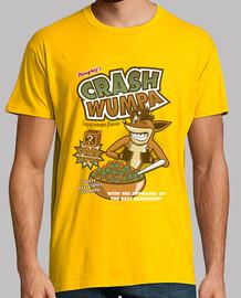 wumpa crash - man t-shirt