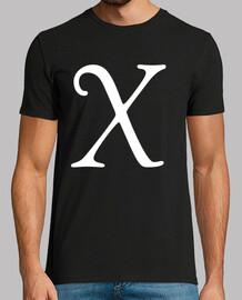 x, de estilo antiguo goudy