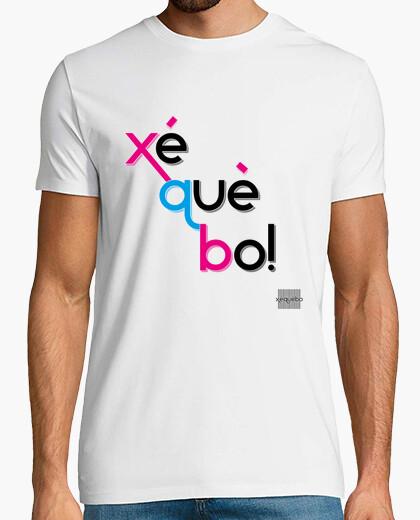 Camiseta Xé què bo! (H)