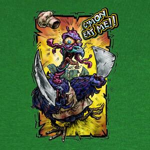 Xmas crazy turkey T-shirts