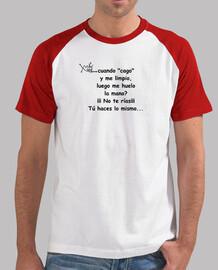 XQUEWHY Hombre, estilo béisbol, blanca y roja
