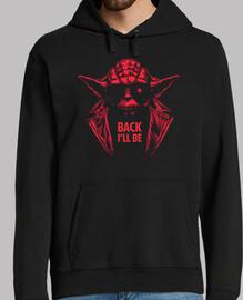 y-800 / yoda / guerre stellari / hoodie