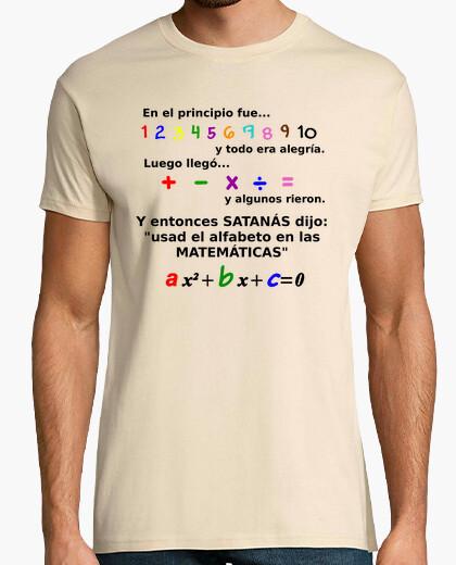 Camiseta Y entonces Satanás dijo...