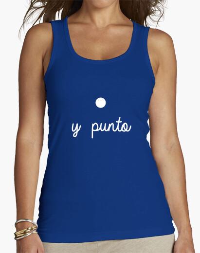 Camiseta y punto