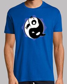 yang yin (en halo bleu)