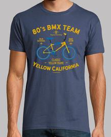 Yellow California BMX