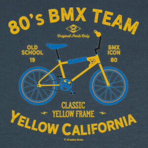 Camisetas Yellow California BMX
