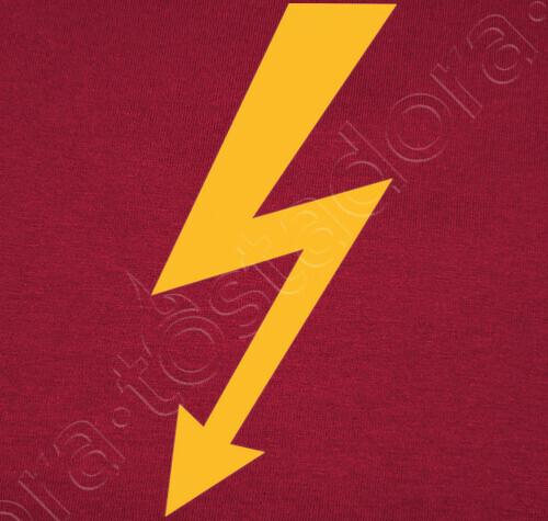 T Shirt Fulmine Giallo Lampo 1666510 Tostadorait