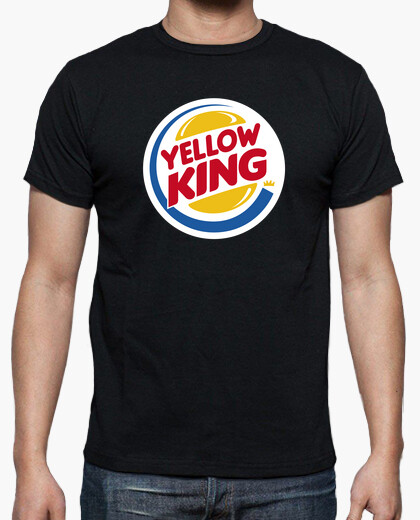 Camiseta Yellow King