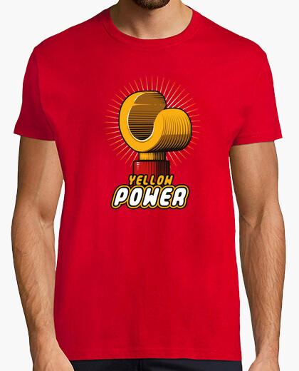 Camiseta Yellow power