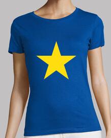 yellow star girl