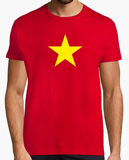 Yellow Star Vietnam T Shirt 140224 Tostadora Co Uk