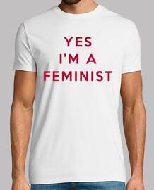 YES I'M A FEMINIST