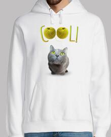 yeux de chat verts en can Tado - cool!