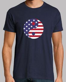 Yin-Yang Bandera Americana