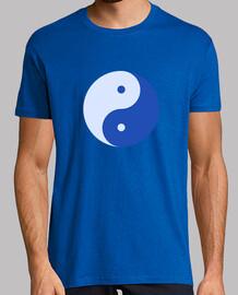 Yin y yang Azúl