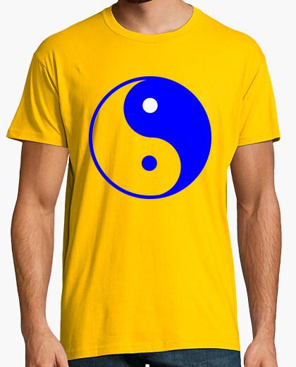 Camiseta Yin Yang Azúl