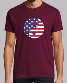 Yin Yang Bandera Americana