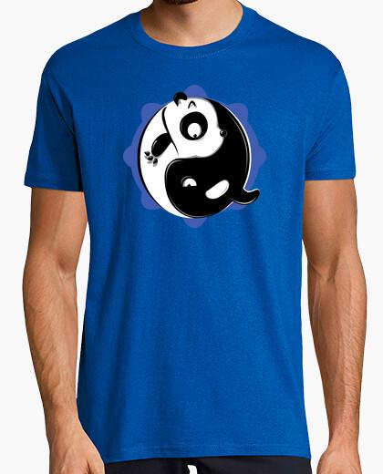 Yin yang (blue halo) t-shirt