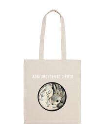 yin yang bolsa de conejos