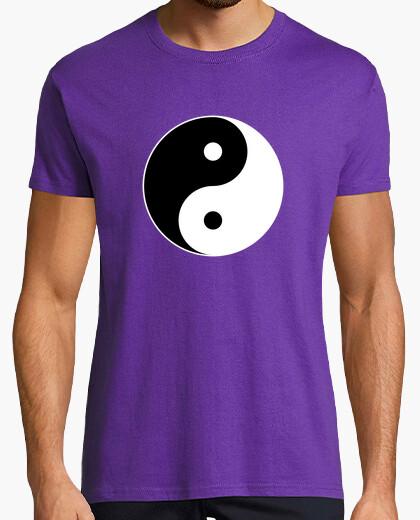 Camiseta Yin Yang color invertido
