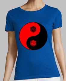 Yin Yang d20 - rojo
