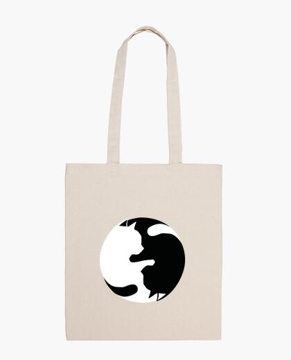 Bolsa yin yang miaw