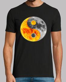 Ying yang (sun and moon)